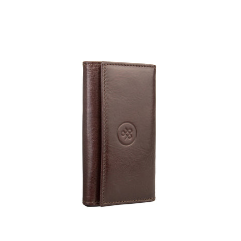 Image 2 of the Brown Leather Key Case Wallet