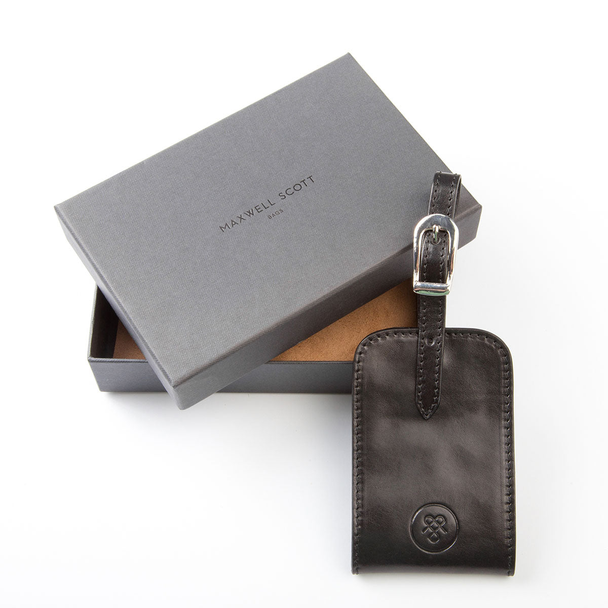 Image 4 of the 'Ledro' Black ID Luggage Tag