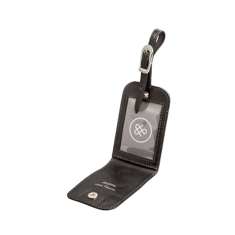 Image 2 of the 'Ledro' Black ID Luggage Tag