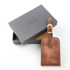 Image 4 of the 'Ledro' Leather Luggage Tag