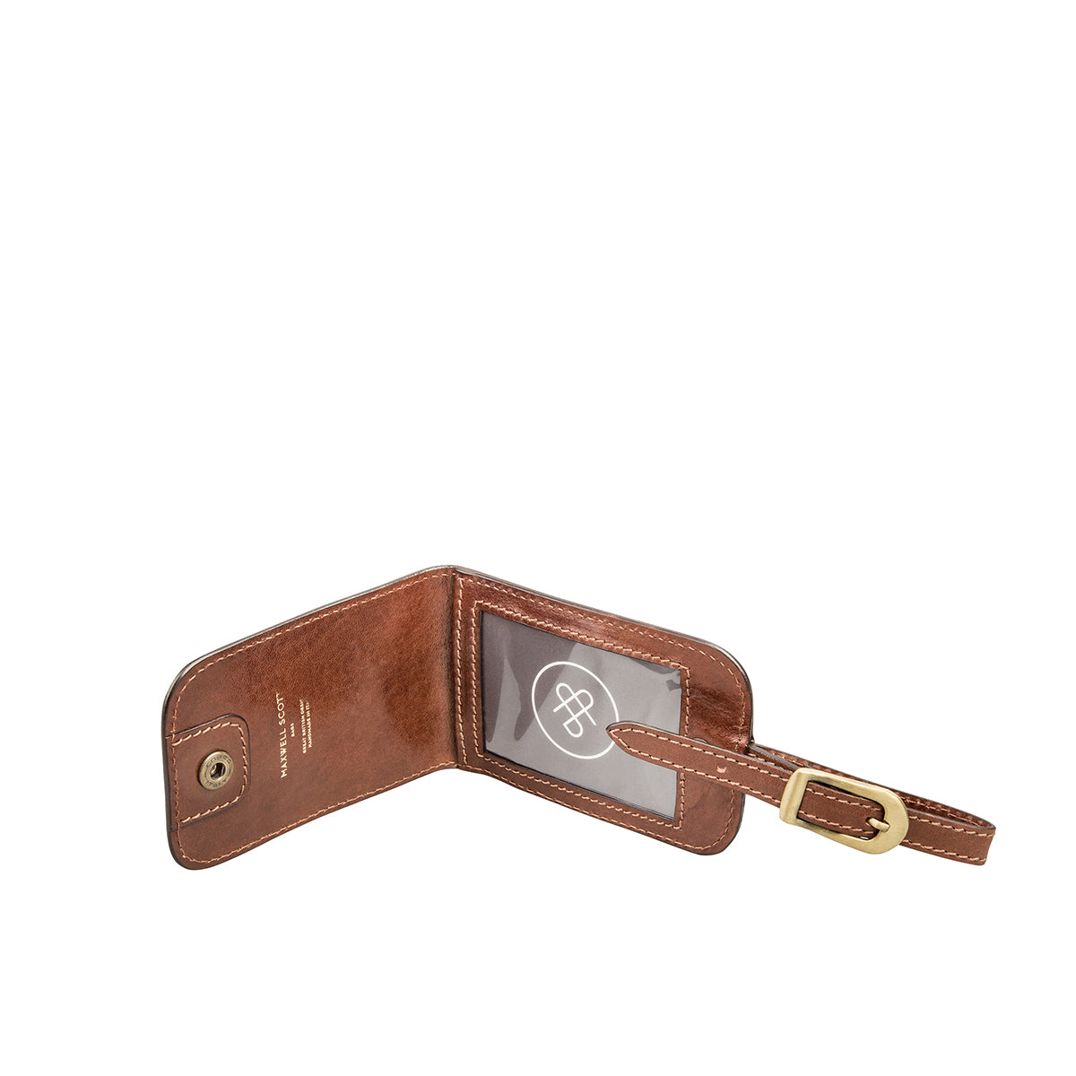 Image 3 of the 'Ledro' Leather Luggage Tag