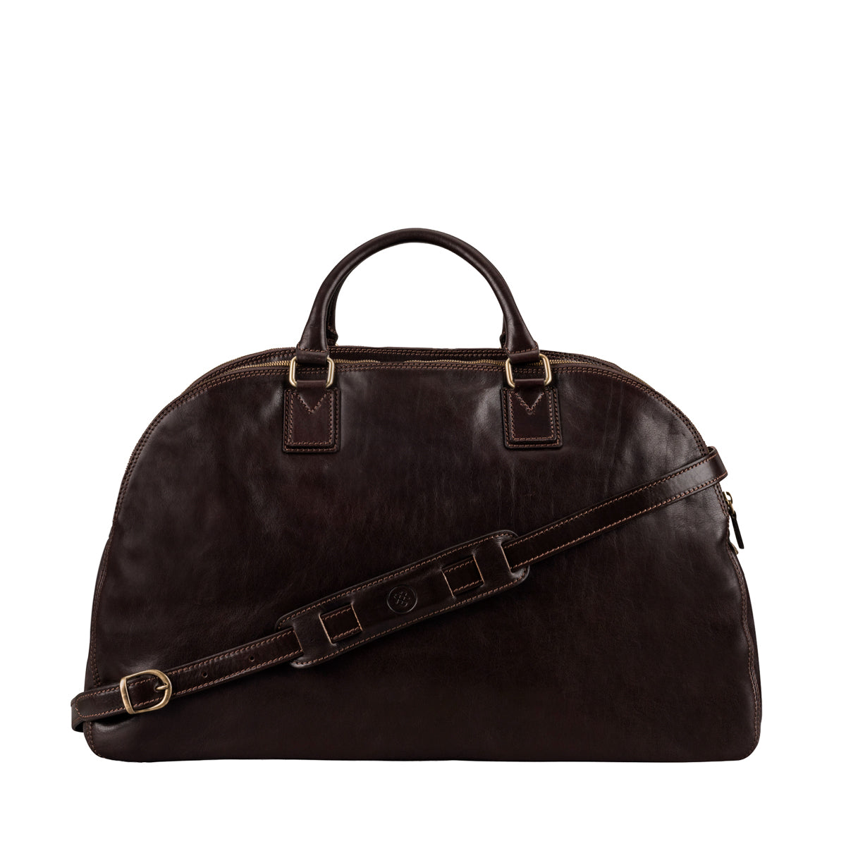 Image 4 of the 'Liliana' Dark Chocolate Veg-Tanned Leather Holdall