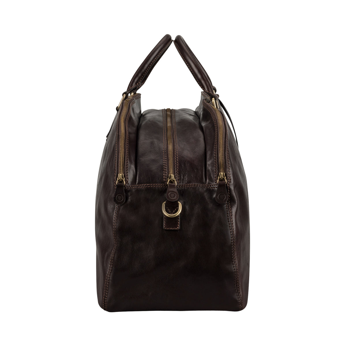 Image 3 of the 'Liliana' Dark Chocolate Veg-Tanned Leather Holdall