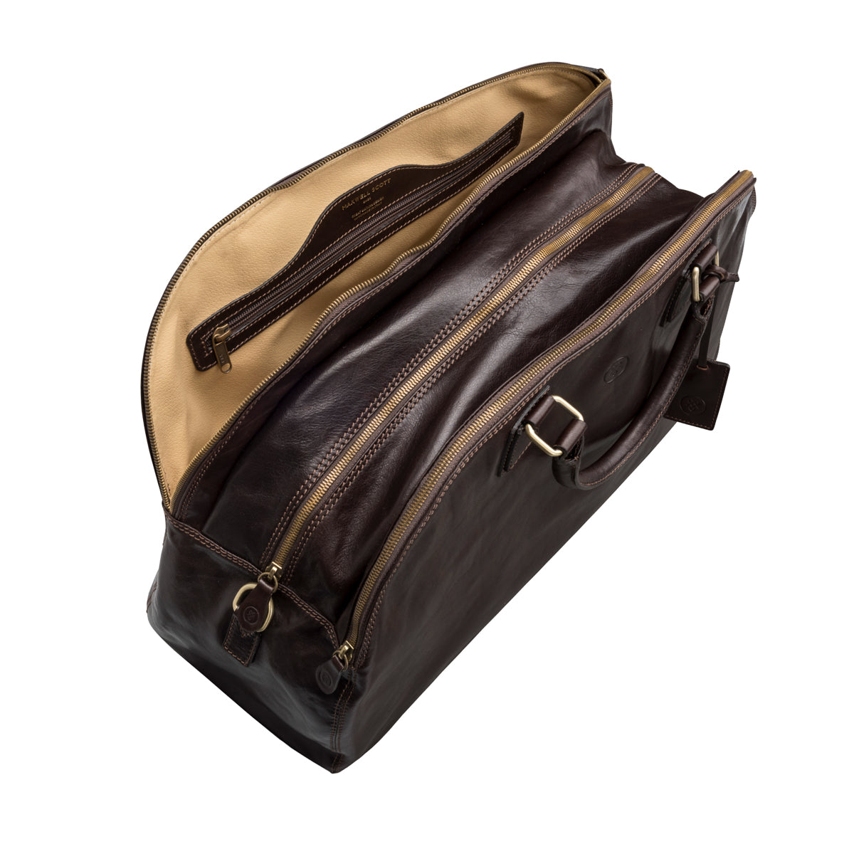 Image 7 of the 'Liliana' Dark Chocolate Veg-Tanned Leather Holdall