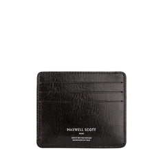 Image 1 of the 'Marco' Black Veg-Tanned Leather Wallet