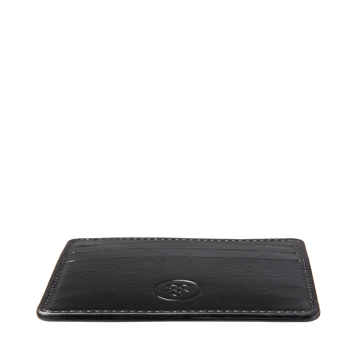 Image 5 of the 'Marco' Black Veg-Tanned Leather Wallet