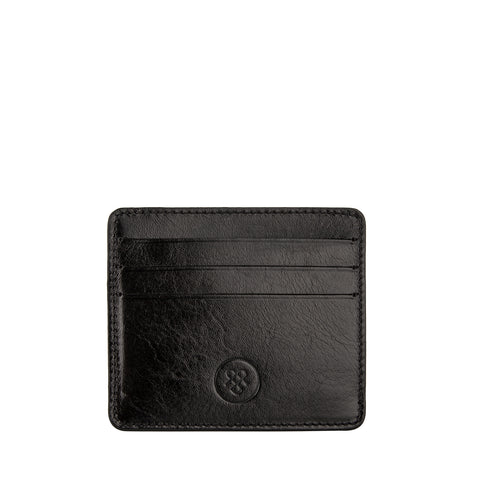 Image 2 of the 'Marco' Black Veg-Tanned Leather Wallet