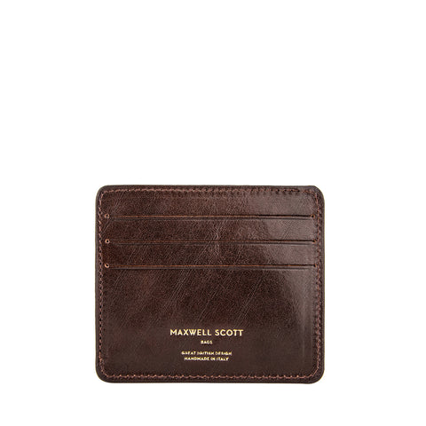 Image 1 of the 'Marco' Dark Chocolate Veg-Tanned Leather Wallet