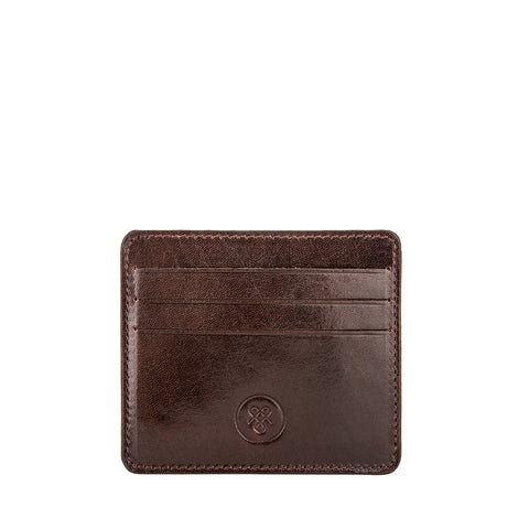 Image 2 of the 'Marco' Dark Chocolate Veg-Tanned Leather Wallet