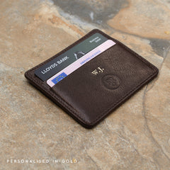 Image 8 of the 'Marco' Black Veg-Tanned Leather Wallet