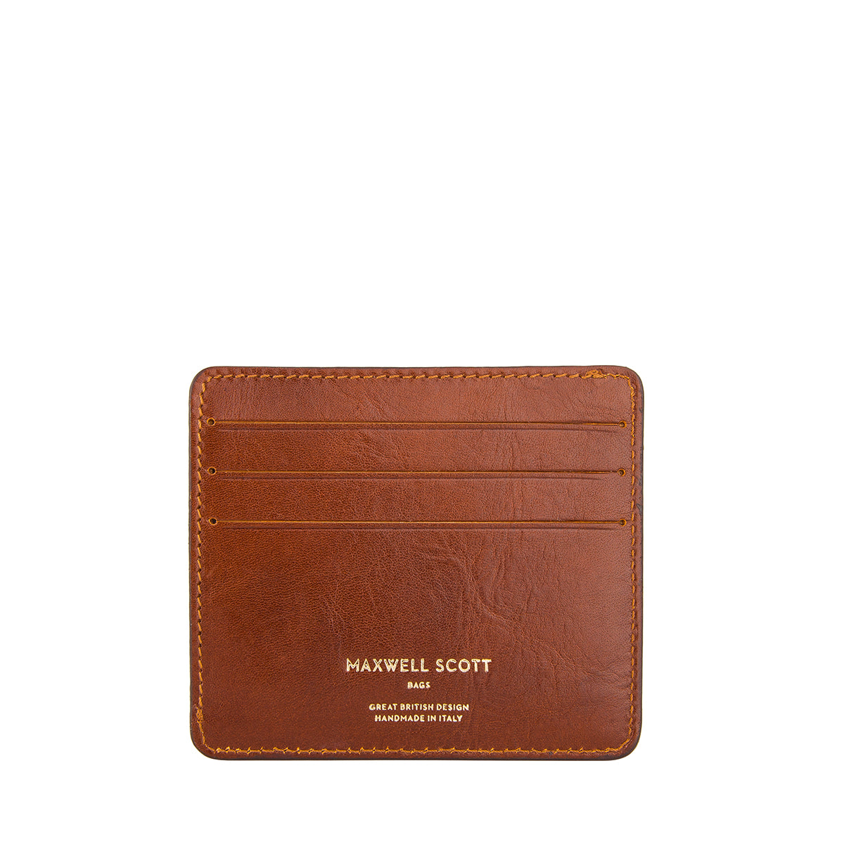 Image 1 of the 'Marco' Chestnut Veg-Tanned Leather Wallet