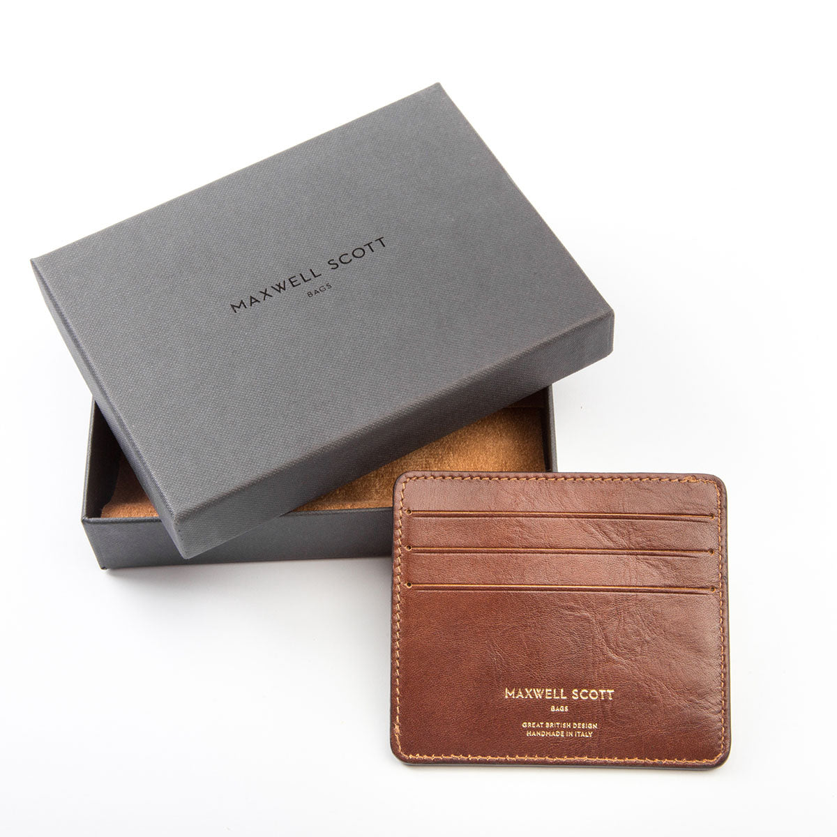 Image 6 of the 'Marco' Chestnut Veg-Tanned Leather Wallet