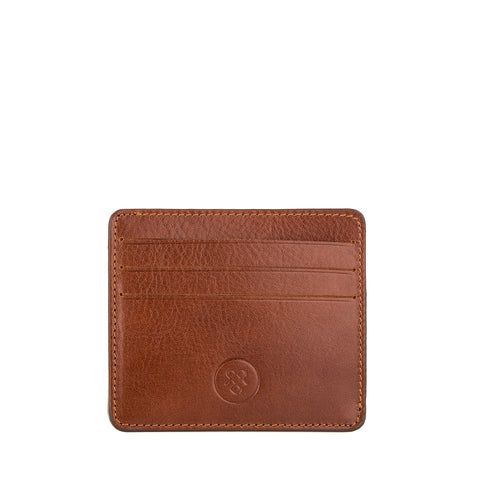 Image 2 of the 'Marco' Chestnut Veg-Tanned Leather Wallet