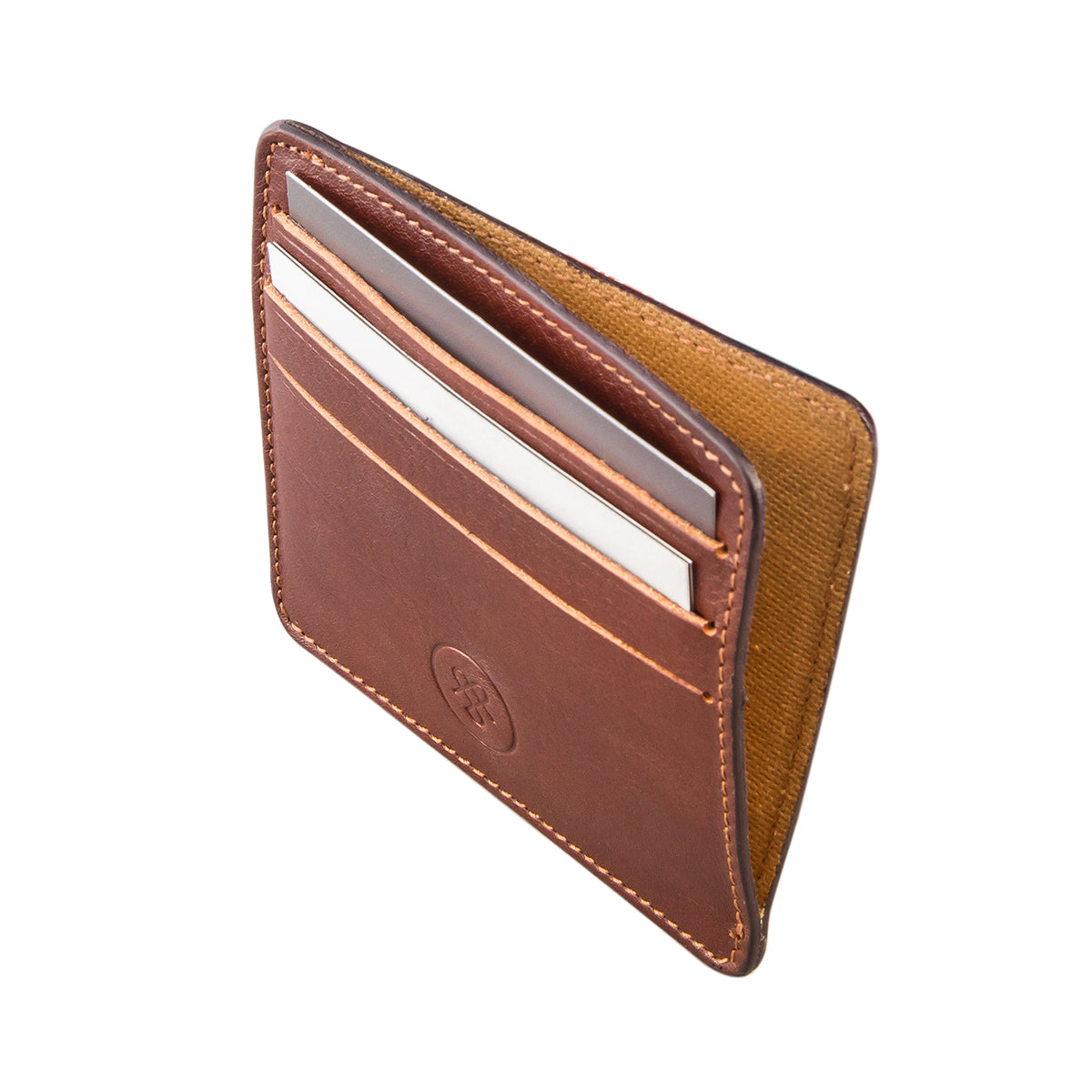 Image 4 of the 'Marco' Chestnut Veg-Tanned Leather Wallet