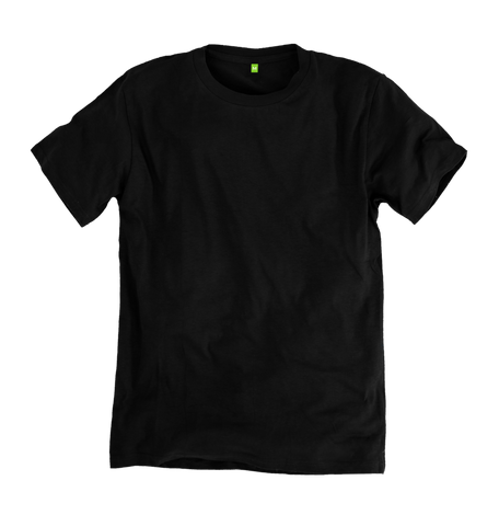 Image 1 of the Men's Bamboo Blend Ethical Black T-Shirt