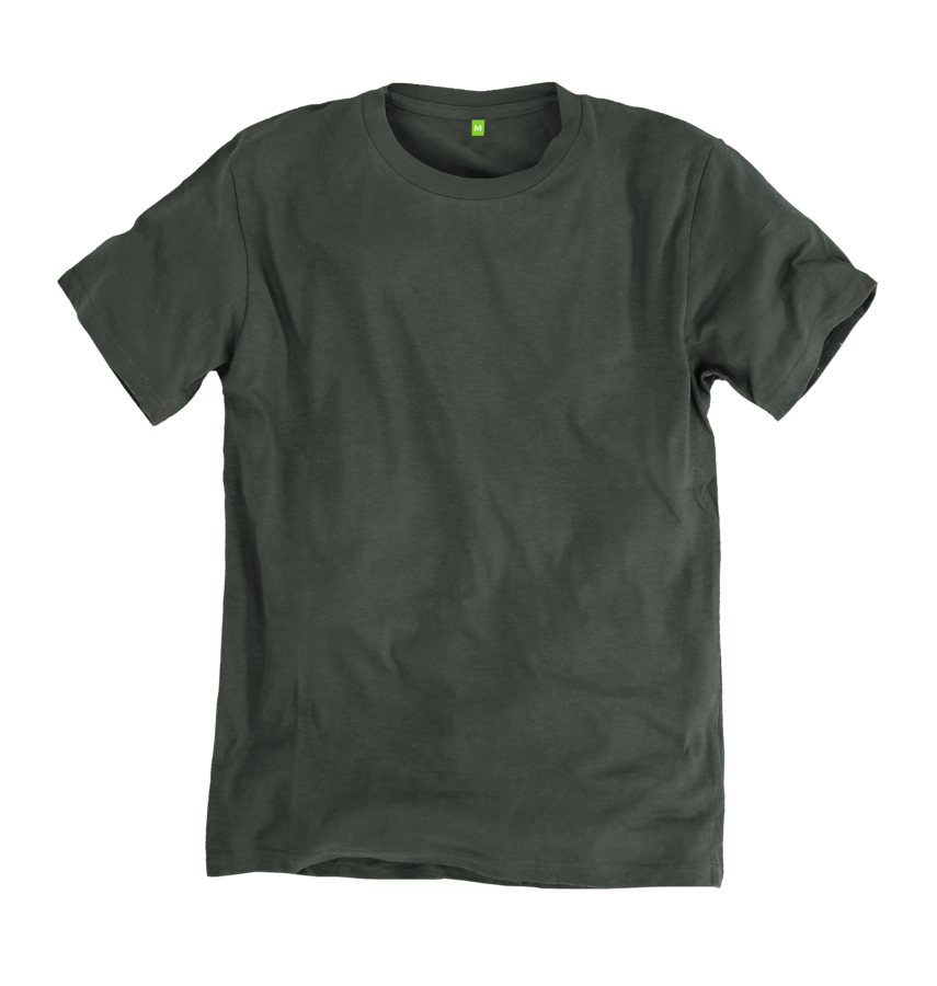Image 1 of the Men's Bamboo Blend Ethical Grey T-Shirt