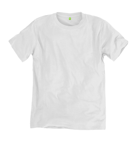 Image 1 of the Men's Bamboo Blend Ethical White T-Shirt