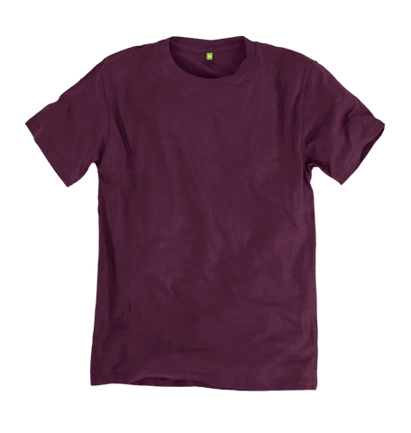 Image 1 of the Men's Bamboo Blend Ethical Wine T-Shirt
