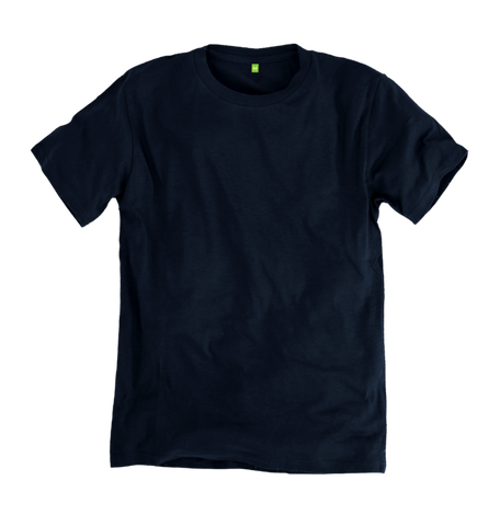 Image 1 of the Men's Organic Cotton Ethical Deep Blue T-Shirt