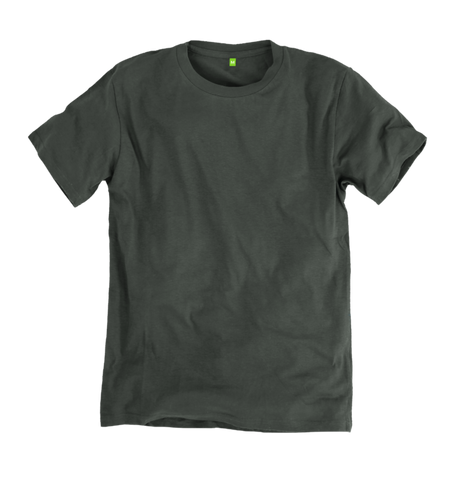Image 1 of the Women's Organic Cotton Dark Grey Boyfriend T-Shirt