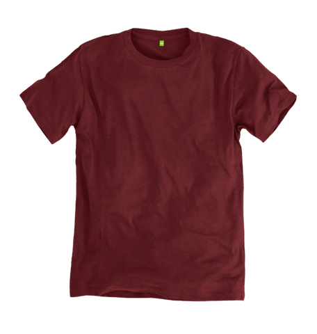 Image 1 of the Men's Organic Cotton Ethical Rust T-Shirt