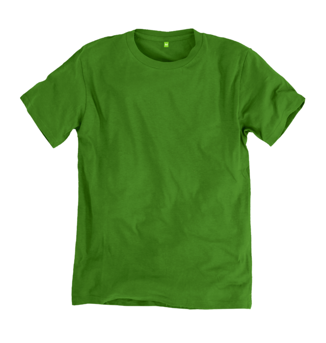 Image 1 of the Men's Organic Cotton Ethical Green T-Shirt