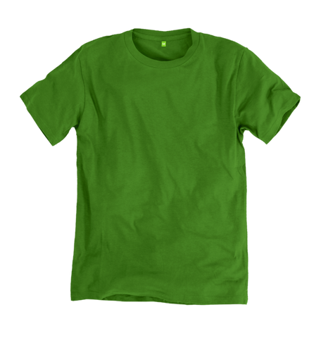 Image 1 of the Women's Organic Cotton Green Boyfriend T-Shirt