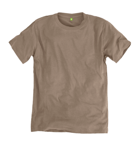 Image 1 of the Men's Organic Cotton Ethical Cream T-Shirt