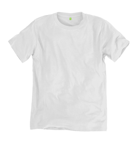 Image 1 of the Men's Organic Cotton Ethical White T-Shirt