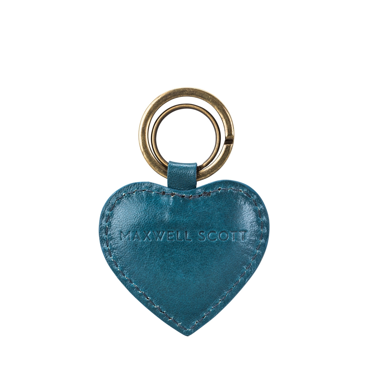 Image 4 of the 'Mimi' Leather Heart Key Ring