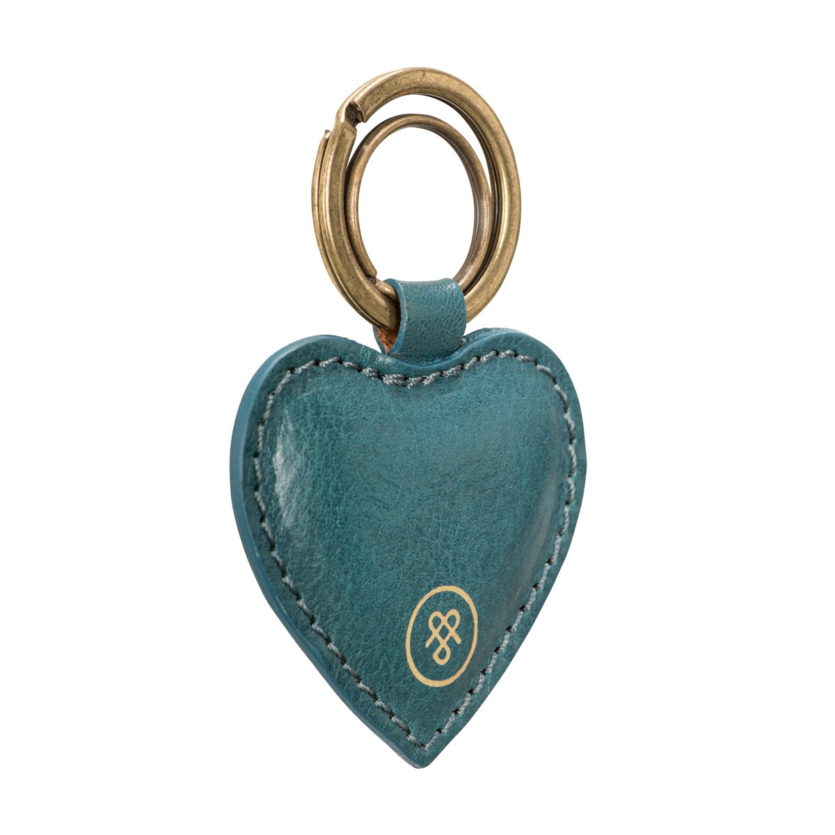 Image 2 of the 'Mimi' Leather Heart Key Ring
