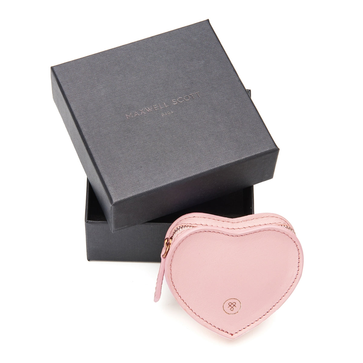 Image 6 of the 'Mirabella' Heart Shaped Pink Coin Purse