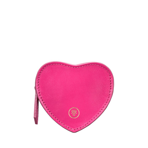 Image 1 of the 'Mirabella' Hot Pink Heart Coin Purse