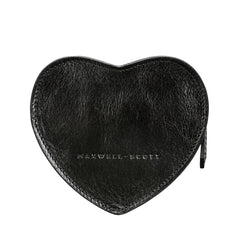 Image 4 of the 'MirabellaL' Black Leather Heart-shaped Handbag Organiser