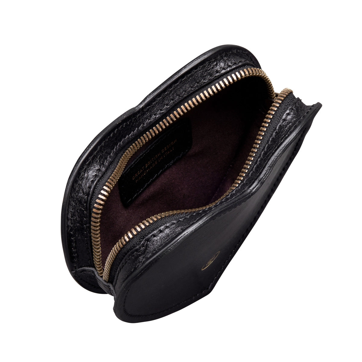 Image 5 of the 'MirabellaL' Black Leather Heart-shaped Handbag Organiser