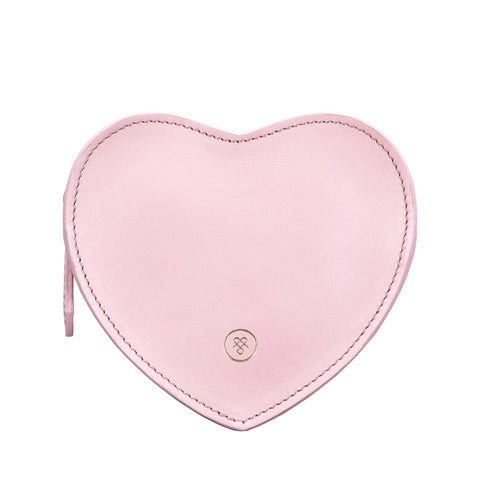 Image 1 of the 'MirabellaL' Pink Leather Handbag Tidy