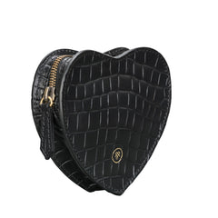 Image 1 of the 'MirabellaL' Croco Heart-shaped Handbag Organiser