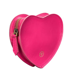 Image 4 of the 'MirabellaL' Hot Pink Leather Handbag Organiser