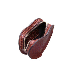 Image 5 of the 'Mirabella' Heart Shaped Croco Leather Coin Purse