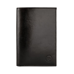 Image 1 of the 'Pianillo' Black Veg-Tanned Leather Breast Wallet