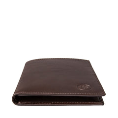 Image 5 of the 'Pianillo' Dark Chocolate Veg-Tanned Leather Breast Wallet