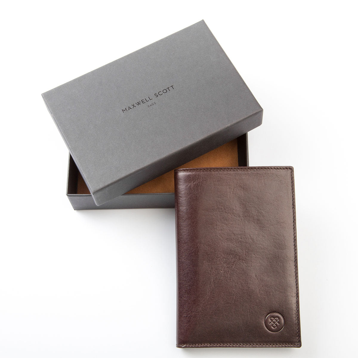 Image 6 of the 'Pianillo' Dark Chocolate Veg-Tanned Leather Breast Wallet