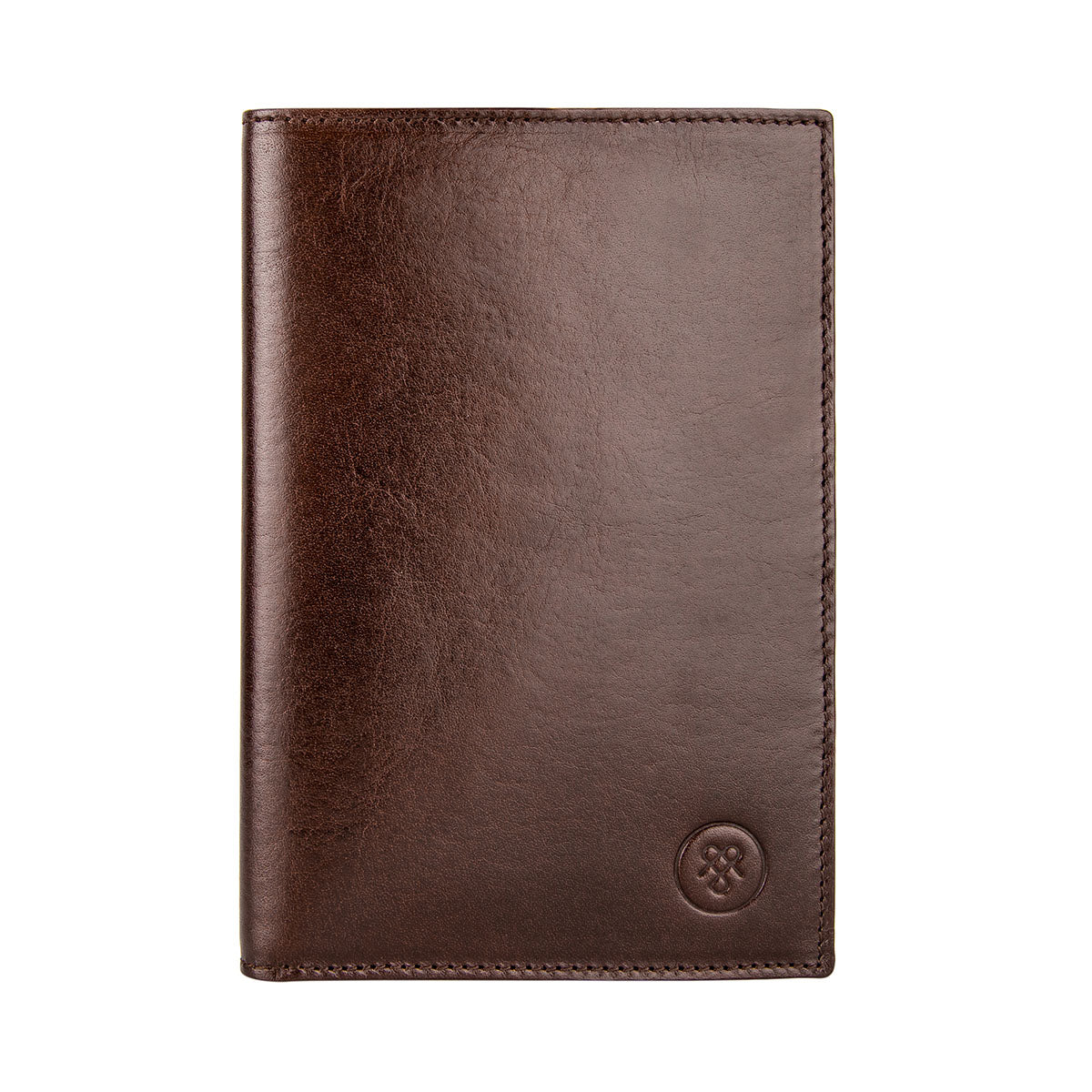 Image 1 of the 'Pianillo' Dark Chocolate Veg-Tanned Leather Breast Wallet