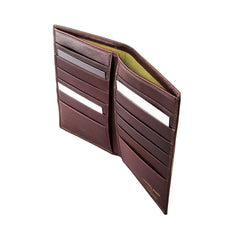 Image 4 of the 'Pianillo' Dark Chocolate Veg-Tanned Leather Breast Wallet
