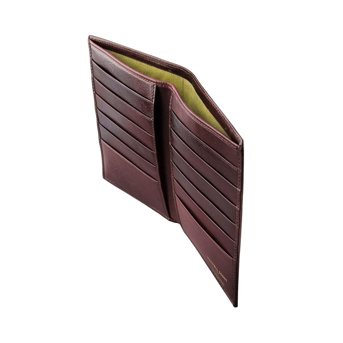 Image 3 of the 'Pianillo' Dark Chocolate Veg-Tanned Leather Breast Wallet
