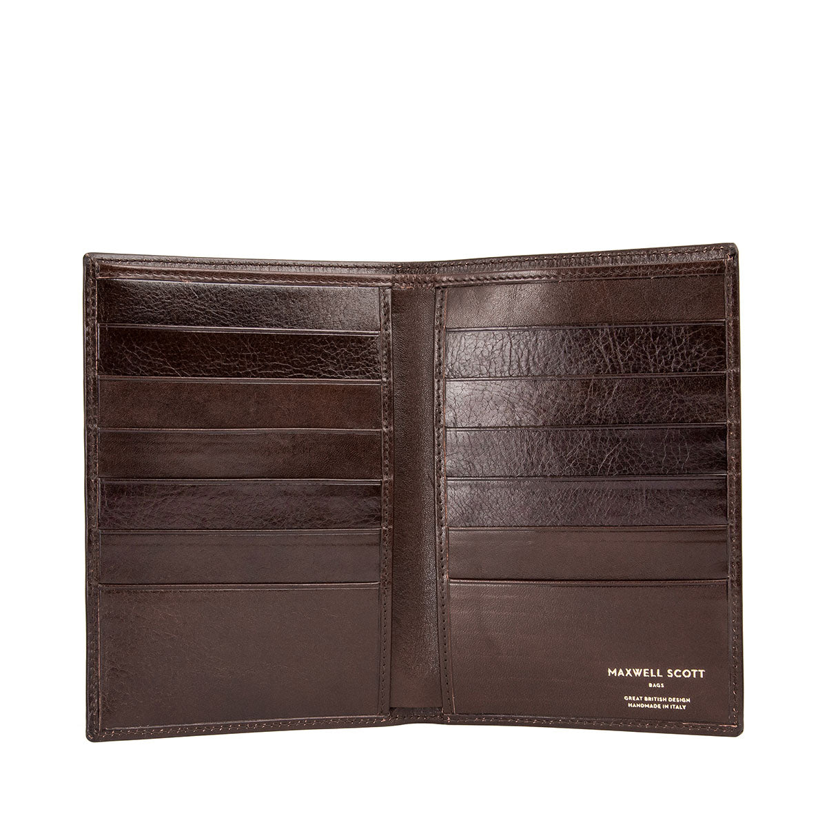 Image 2 of the 'Pianillo' Dark Chocolate Veg-Tanned Leather Breast Wallet