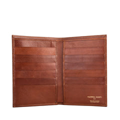 Image 2 of the Men's Tan Leather Jacket Wallet