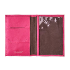 Image 4 of the 'Prato' Luxury Leather Passport Holder