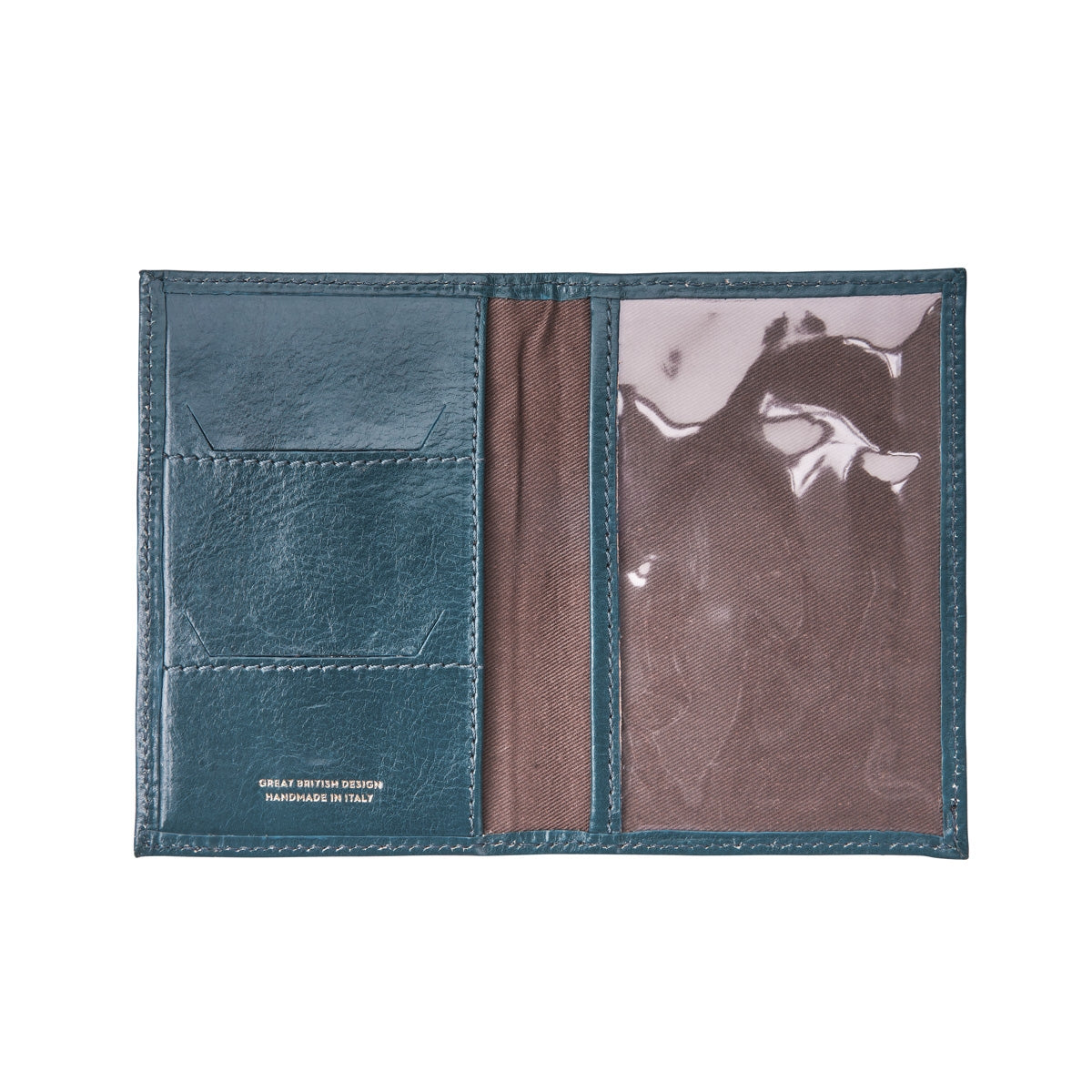 Image 4 of the 'Prato' Leather Passport Cover