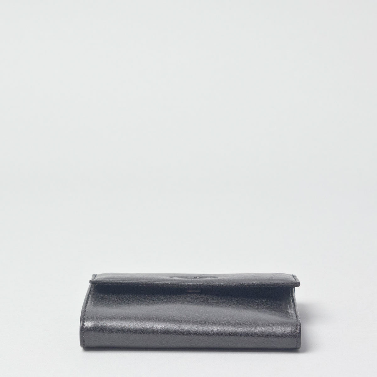 Image 3 of the 'Cetona' Black Veg-Tanned Multipurpose Wallet